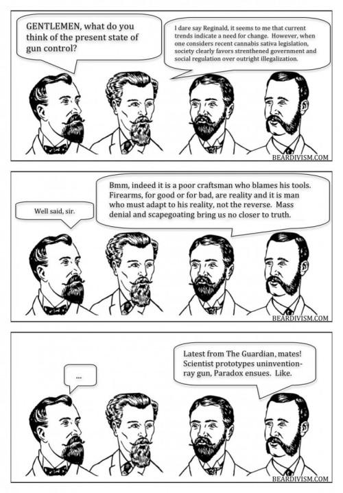 gun-control beard comic denial
