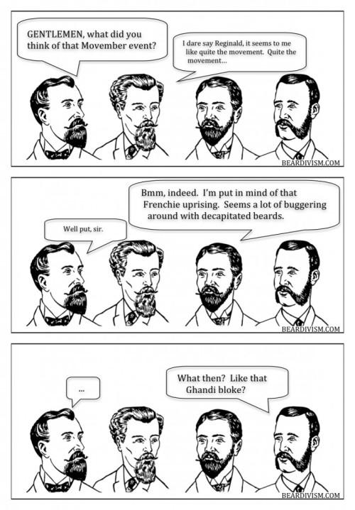movember beard french revolution