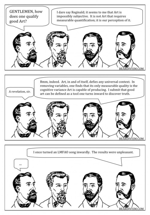 pop music defining art beard comic